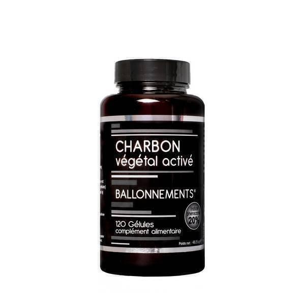 NutriVie - Charbon végétal activé 120 gélules