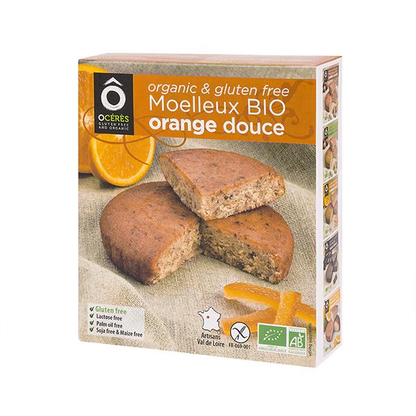 OCérès - Moelleux Orange Douce Bio sans gluten 170g