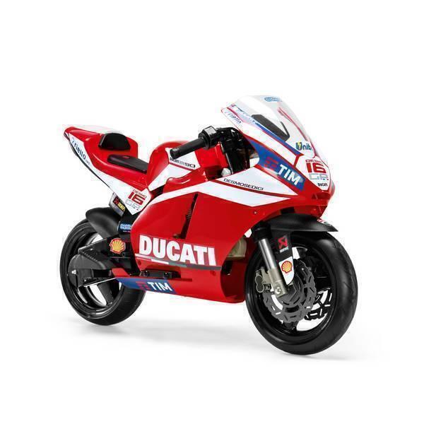 Peg Perego - Ducati GP - Moto 12 volts - Dès 3 ans