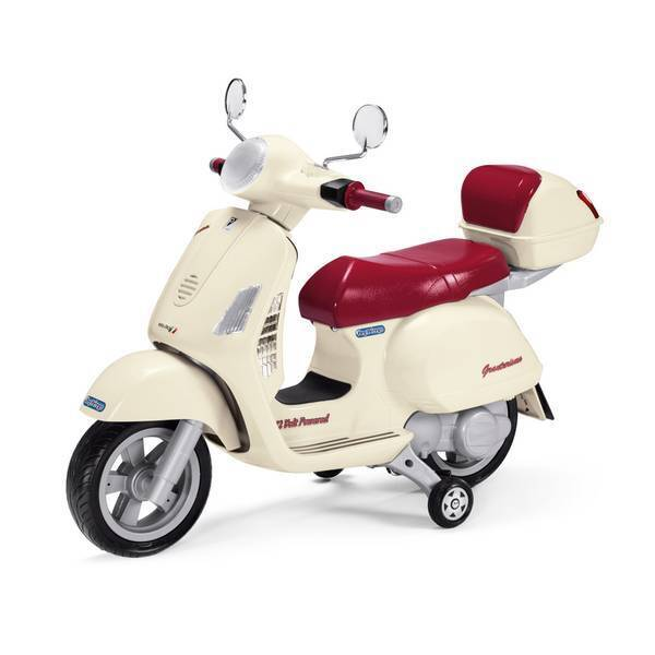 Peg Perego - Vespa - Scooter 12 volts - Dès 3 ans