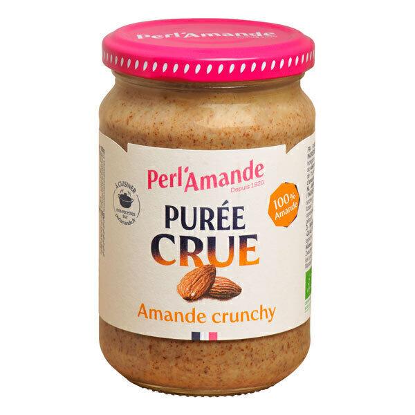 Perlamande - Purée crue Crunchy Amande complète bio 300g