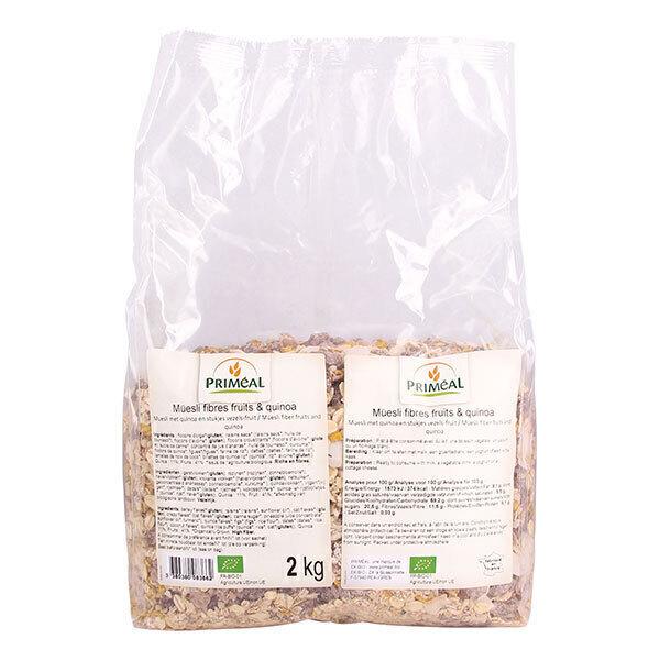 Priméal - Müesli fibres fruits & quinoa 2kg
