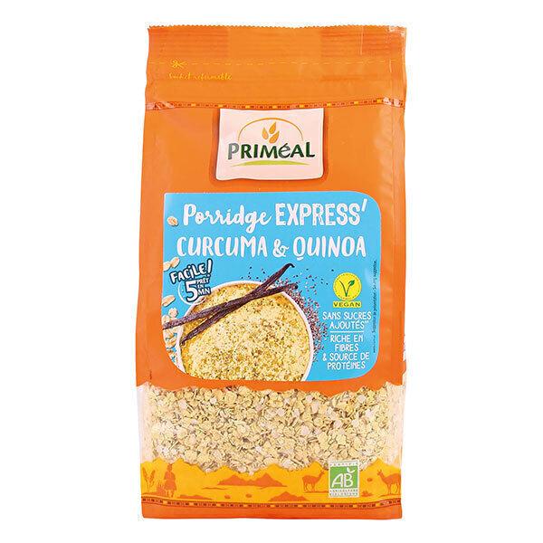 Priméal - Porridge express curcuma & quinoa 350g