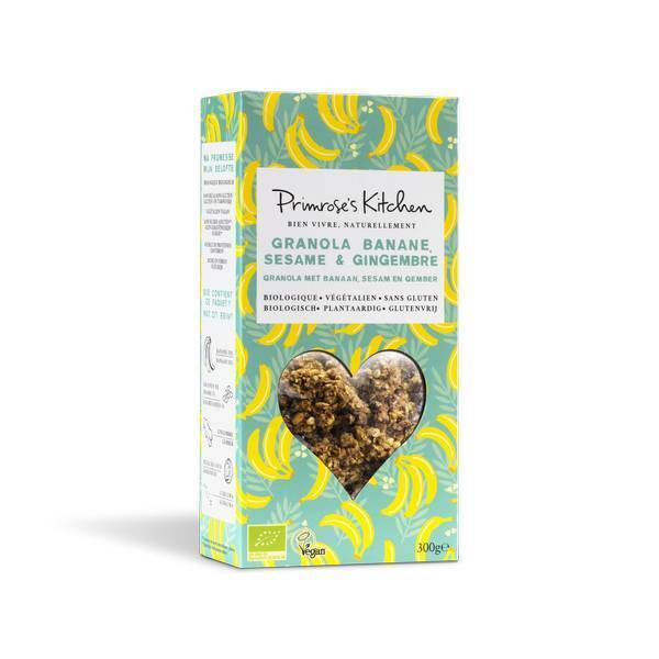 Primrose's Kitchen - Granola Banane Sésame 300g