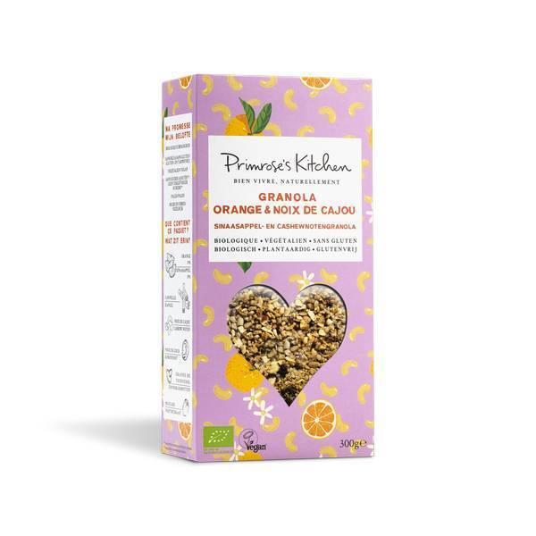 Primrose's Kitchen - Granola Orange Noix de Cajou 300g