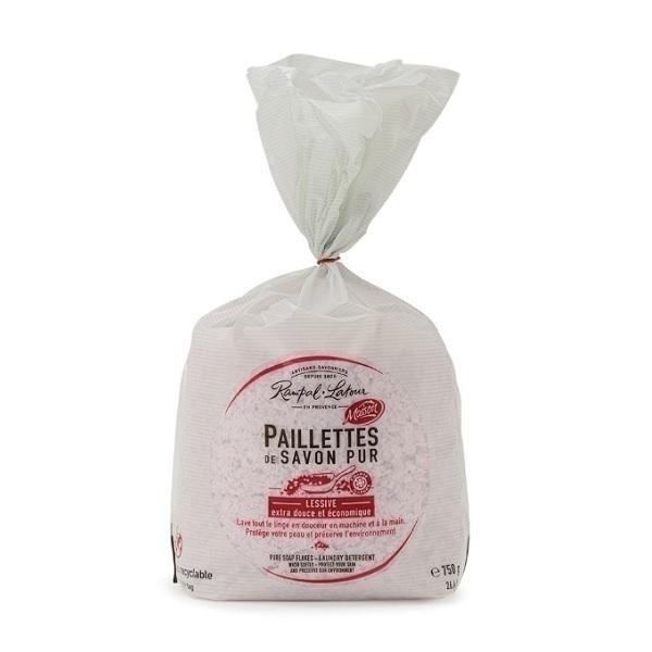 Rampal Latour - Paillettes de savon pur Rose de Grasse 750g