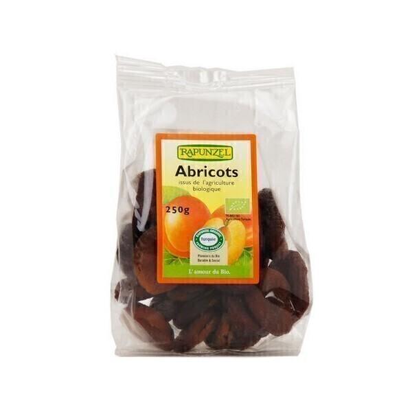 Rapunzel - Abricots secs entiers dénoyautés 250g