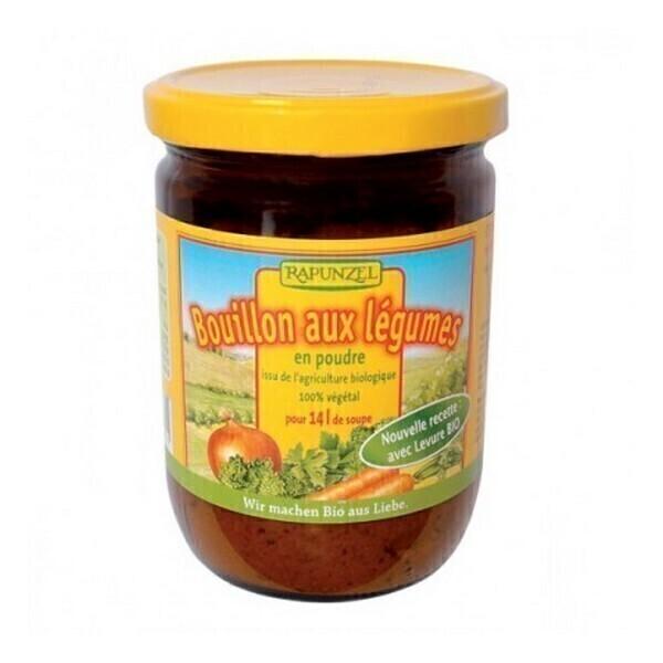 Rapunzel - Bouillon Légumes en poudre Bocal de 250g