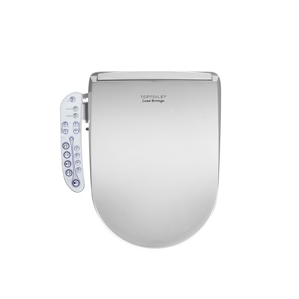TopToilet - Abattant WC japonais multi fonctions Luxe Bronze