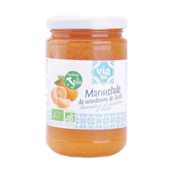 Via Bio - Marmelade de mandarine 370g