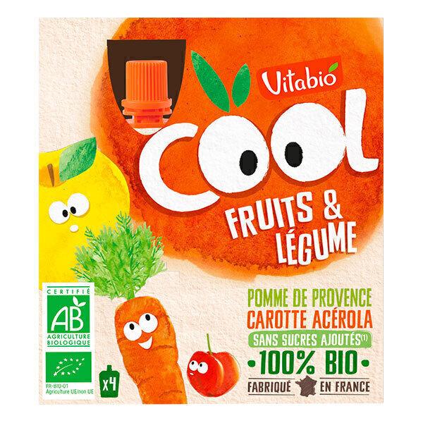 Vitabio - Compote Pomme carotte gourde 4x90g