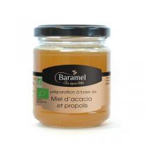 Baramel - Miel d'Acacia et Propolis Bio 250g