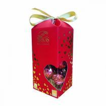 Belvas - Papillottes Coeurs Twist balls chocolat 72% cacao 150g