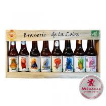 Brasserie de la Loire - Coffret de 8 bières artisanales de la Loire