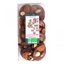 Chocolaterie Castelain - Mendiants au chocolat Noir et Lait 150g
