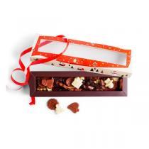 Chocolaterie Castelain - Réglette fritures de chocolats de Noël 150g