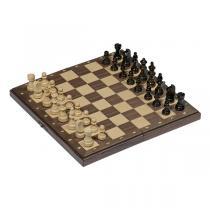 Goki - Jeu d'échecs magnétique boîte pliable - Dès 7 ans