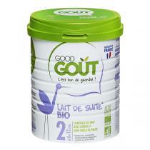 Good Gout - Lait de suite Bio dès 6 mois 800g