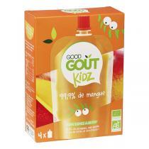 Good Gout - Gourde Kidz Mangue bio 4x90g