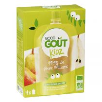 Good Gout - Gourde Kidz Poire bio 4x90g