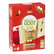 Good Gout - Gourde Kidz Pomme bio 4x90g