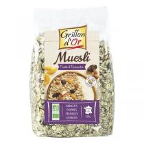 Grillon d'or - Muesli Fruits Epeautre 500g