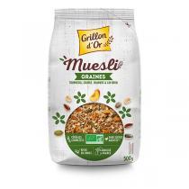Grillon d'or - Muesli Graines 500g