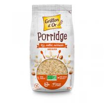 Grillon d'or - Porridge Riz Millet Sarrasin 375g