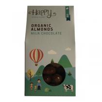 Happy People Planet - Amandes chocolat lait 120g