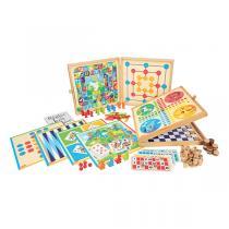 Jeujura - Coffret de Jeux Classiques – 150 règles - Dès 3 ans