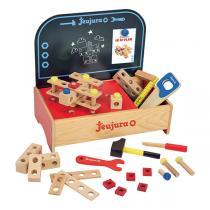 Jeujura - Etabli de table en bois - Dès 3 ans