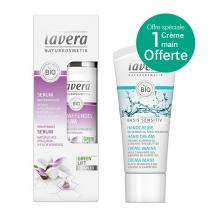 Lavera - Lot Sérum Karanja 30ml + 1 Crème main offerte 20ml
