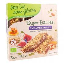 Ma Vie Sans Gluten - Super barres Figue amande amarante 75g