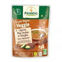 Priméal - Repas soupe Légumes pois chiches sorgho 250ml
