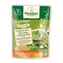 Priméal - Repas soupe Légumes verts pois quinoa 250ml
