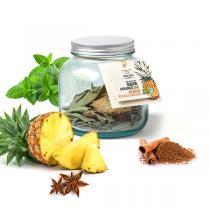 Quai Sud - Mélange pour Rhum arrangé bio Ananas épices douces