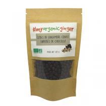 Touch Organic - Cubes de gingembre confit enrobés de chocolat bio 125gr