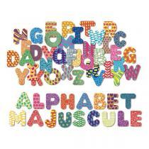 Vilac - Magnets Alphabet majuscule 56 pièces - Dès 3 ans