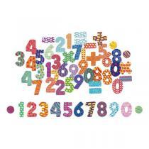 Vilac - Magnets Chiffres 56 pièces - Dès 3 ans