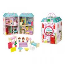 Vilac - Maison de poupée en valise - Dès 3 ans