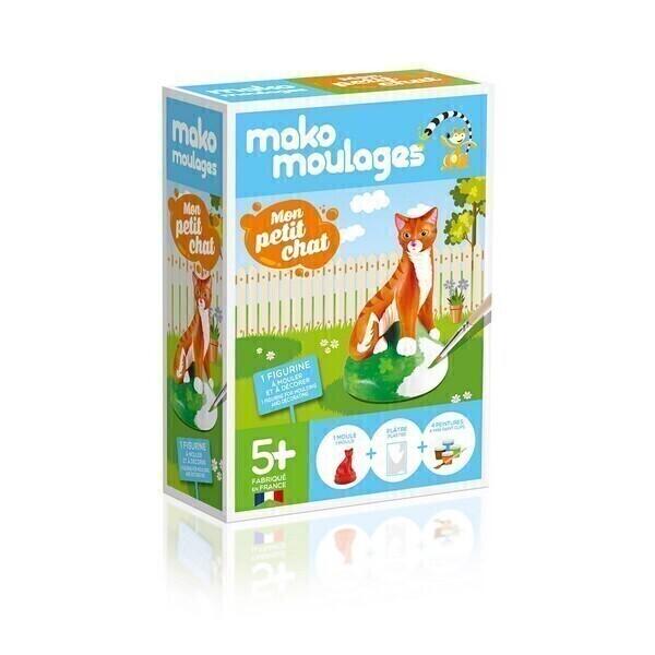 Mako moulages - Moulage Mon petit chat - Des 5 ans
