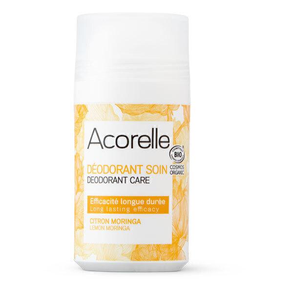 Acorelle - Deodorant longue duree, citron moringa 50ml