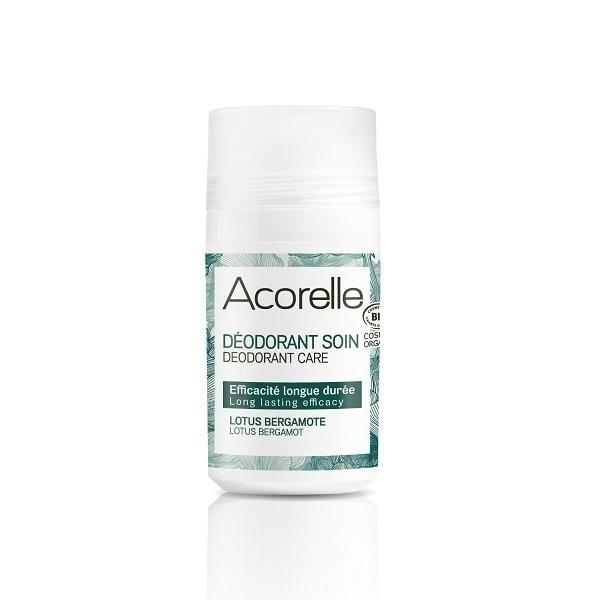 Acorelle - Déodorant longue durée, lotus bergamote 50ml