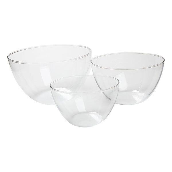 Simax - Set de 3 saladiers en verre borosilicate