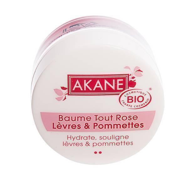Akane - Baume tout rose lèvres et pommettes 12g