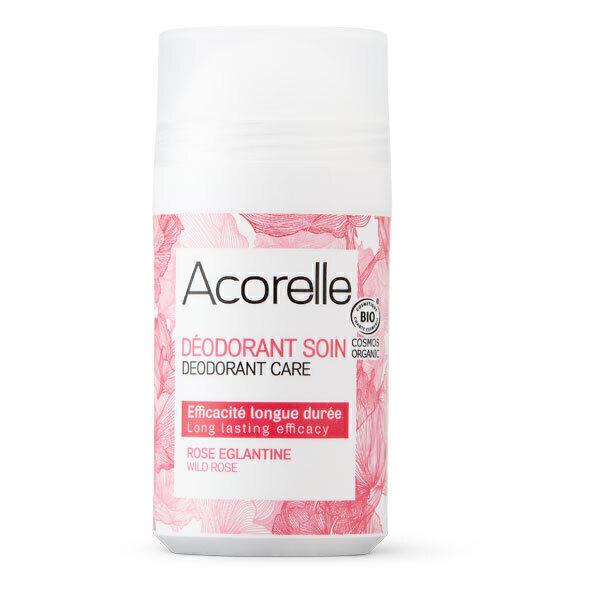 Acorelle - Deodorant longue duree, rose eglantine 50ml