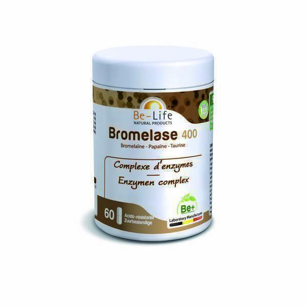 Be-Life - Bromelase 400 60 gélules