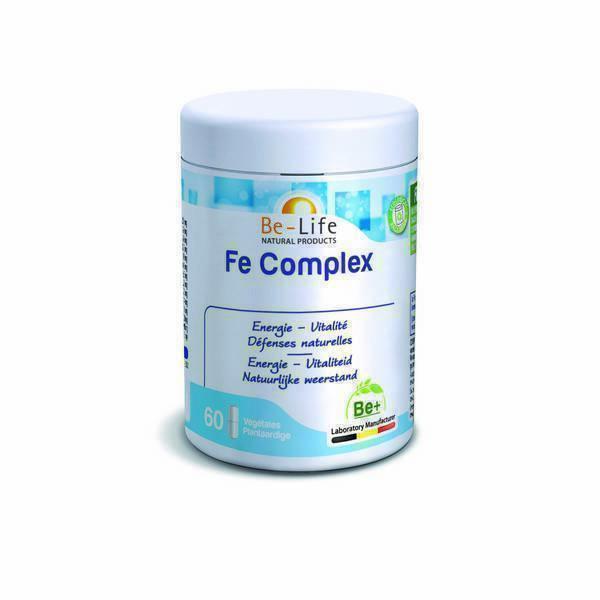 Be-Life - Fe Complex 60 gélules