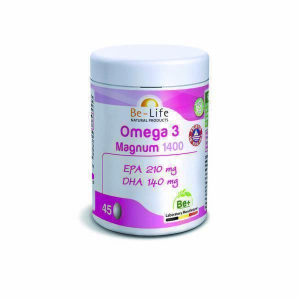 Be-Life - Oméga 3 magnum 1400 45 capsules