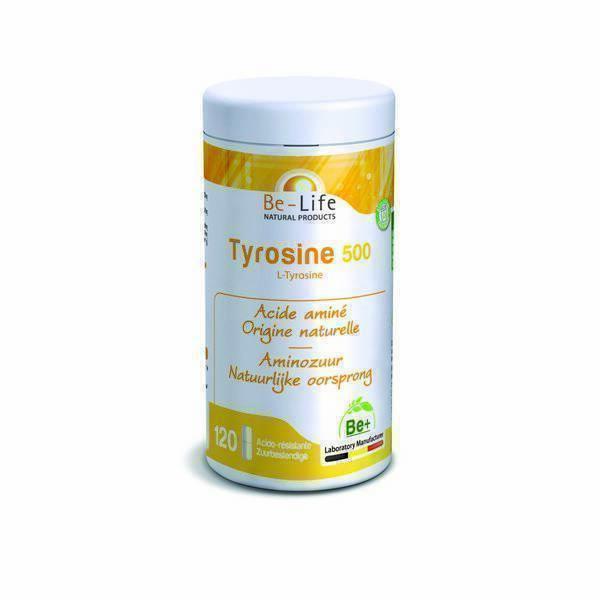 Be-Life - Tyrosine 500 120 gélules